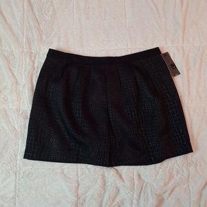 Snake print XL skirt